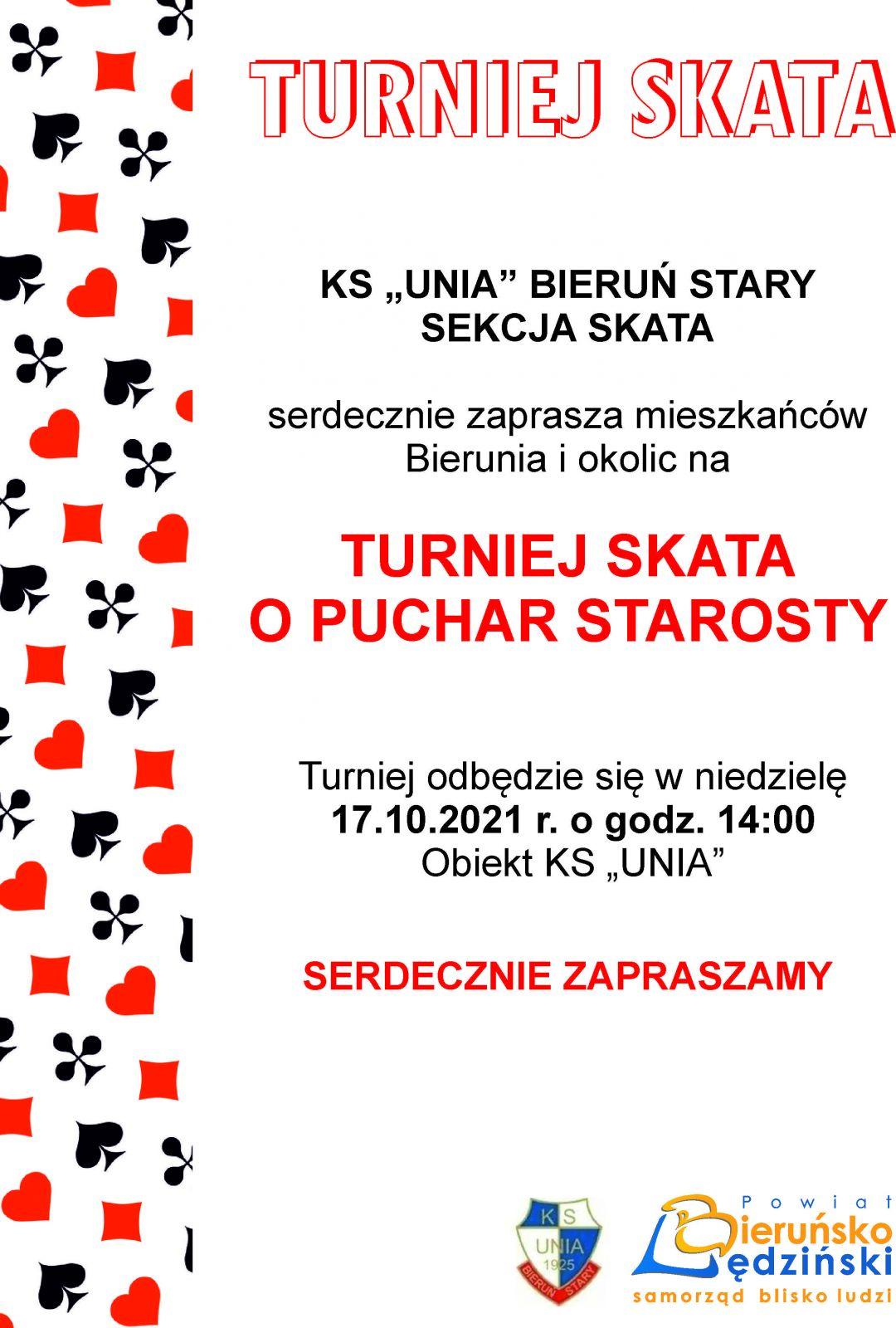 Plakat informujący