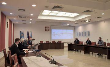 Spotkanie Zarządu Powiatu z reprezentami wykonawcy S1 na terenie powiatu