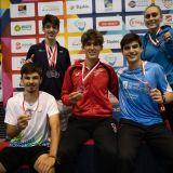 Zawodnicy z medalami