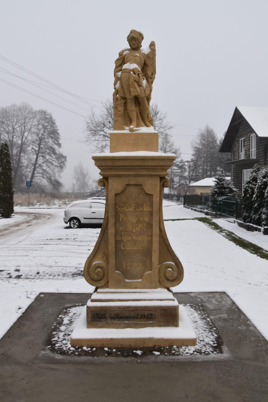 Figura św. Foriana, Bojszowy ul. Gaikowa