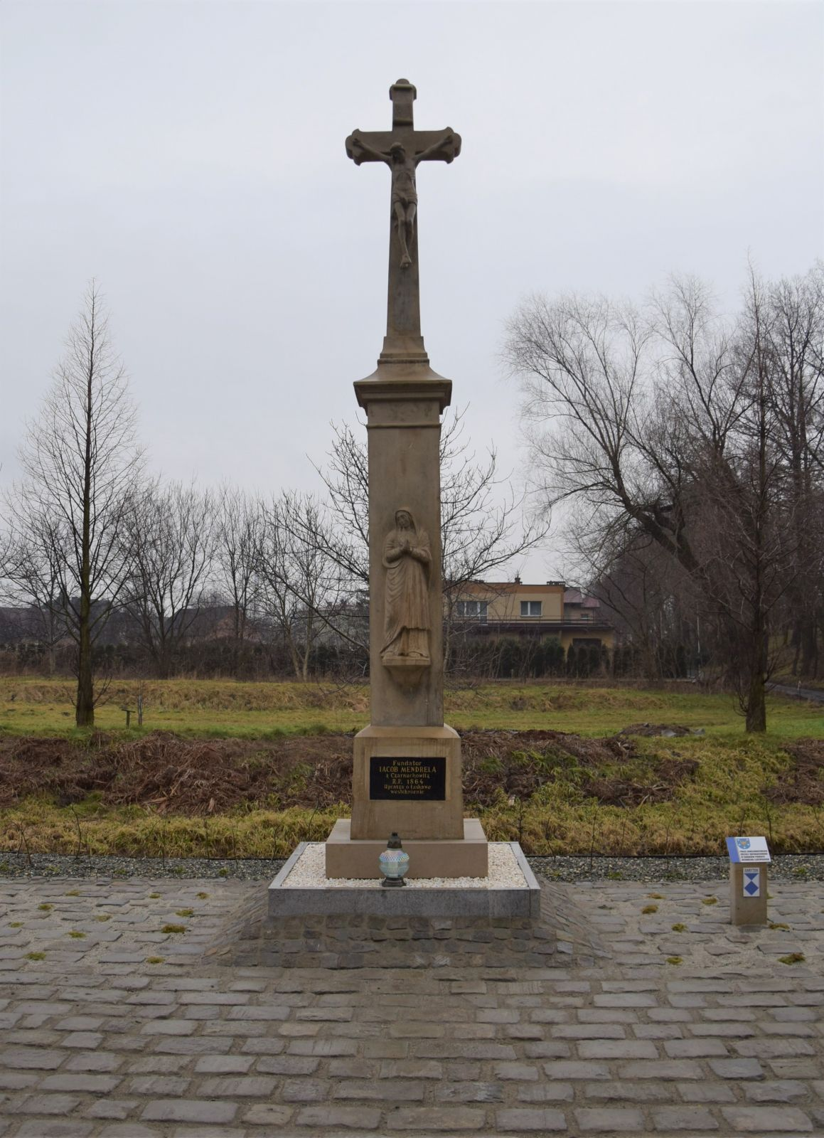 Krzyż przydrożny, Bieruń ul. Chemików