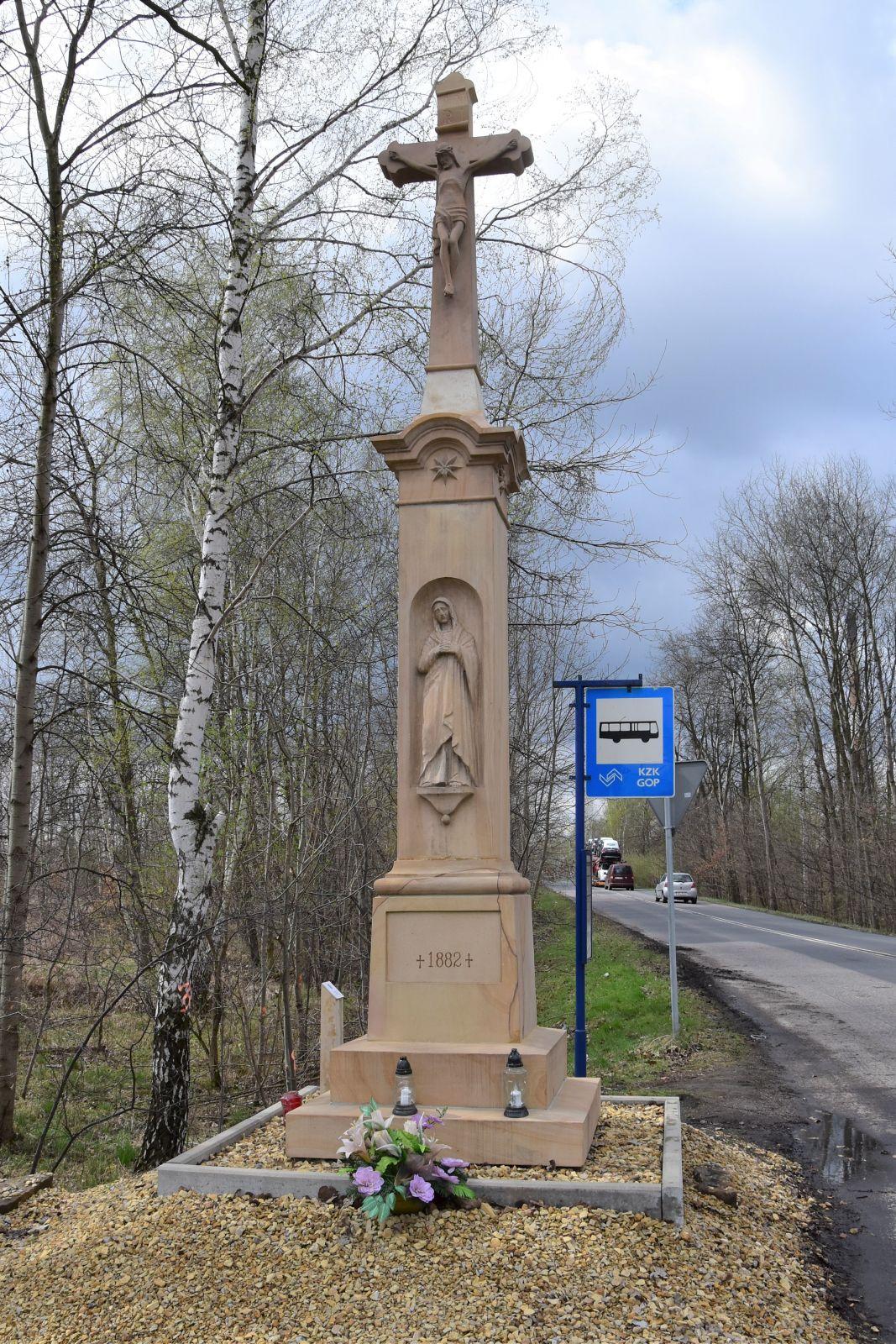 Krzyż przydrożny, Bieruń ul. Lędzińska