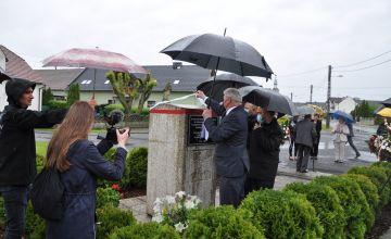 Upamiętnienie powstańców z Bierunia i Bojszów poległych w III Powstaniu Śląskim