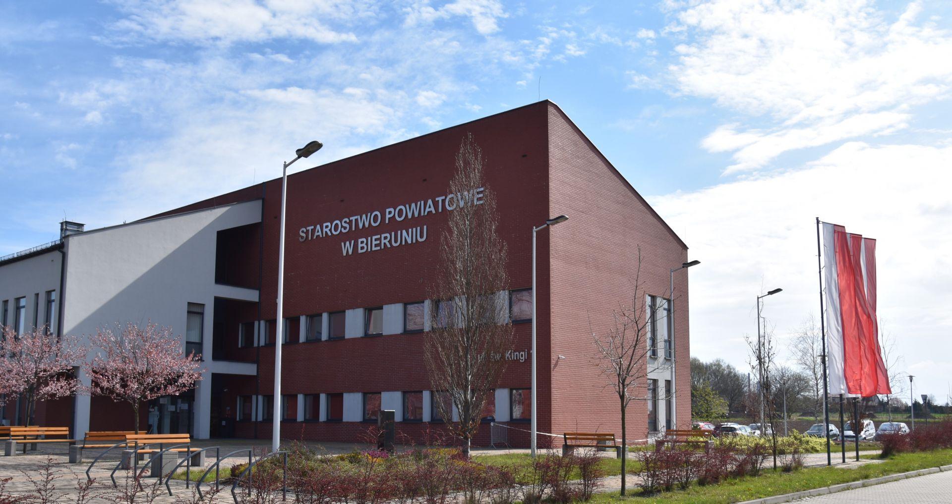 Budynek Starostwa Powiatowego w Bieruniu