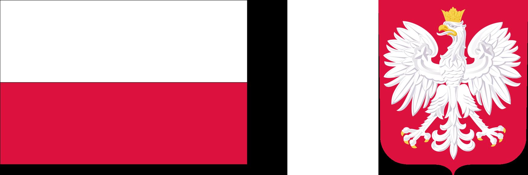 Flaga oraz godło